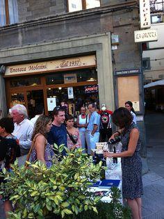 Tenuta Valdipiatta, wine tasting at Enoteca Molesini in Cortona