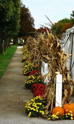 Autumn Decor - Shipshewana, Indiana