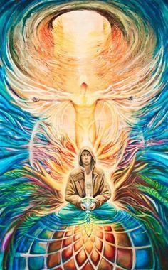 Psychedelic Art, Art Visionnaire, Psy Art, Mystique, Lucid Dreaming, Visionary Art, Sacred Art, Sacred Geometry, Trippy