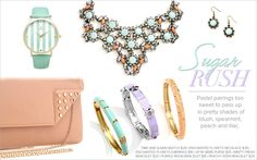Spring Trends ~ arm candy www.justjewelry.com/lourdes