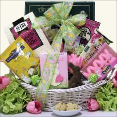 Sugar free easter gift basket gift basket ideas pinterest divine easter sweets small chocolate sweets holiday adds negle Gallery