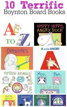 10 Terrific Sandra Boynton Board Books for Babies, Toddlers, and Preschoolers. And check out our free printable animal sounds game!