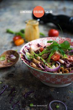 Lunchbox Colour Salad