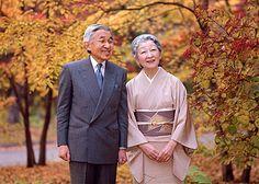 天皇両陛下/The Emperor and Empress of Japan.