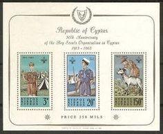 1963: Scouts (קפריסין) (Cyprus Boy Scouts) Mi:CY BL1,Yt:CY BF1