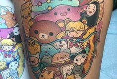 Resultado de imagen de animated tattoo