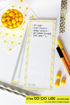 FREE download - to do list @eyecandycreate #todolist #freedownload #organization…