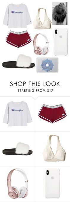"""Around the house"" by raelyn-goodwin on Polyvore featuring Champion G"