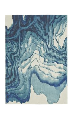 Shop Wayfair for Feizy Rugs Margaret Blue Area Rug - Great Deals on all Decor products with the best selection to choose from! Contemporary Area Rugs, Modern Area Rugs, Beige Area Rugs, Watercolor Rug, Watercolor Effects, Alphonse Mucha, Tapis Design, Grand Bazaar, Design Studios