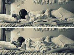 Фотосессии парня и девушки на кровати фото 18-248
