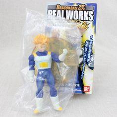 Dragon Ball Z S.S. Trunks Battle Jacket Real Works Figure Bandai JAPAN ANIME
