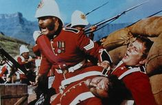 """Rorke's Drift  January 1879   11 Victoria Cross medals were awarded  Image is from film """"Zulu"""""""
