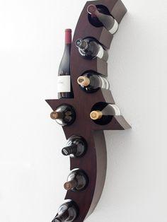 Living Room Modern Wall Wine Rack