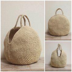 Crochet Basket Pattern, Knit Basket, Basket Bag, Crochet Shoes, Knit Crochet, Crochet Market Bag, Macrame Bag, Craft Bags, Crochet Handbags