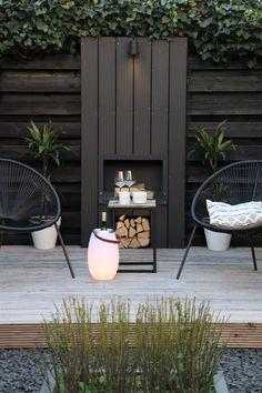 Small Backyard Patio, Backyard Patio Designs, Backyard Landscaping, Patio Ideas, Back Gardens, Outdoor Gardens, Modern Gardens, Indoor Garden, Ideas Terraza