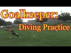 Goalkeeper Training: Diving for the Soccer Ball Soccer Training Drills, Goalkeeper Training, Soccer Workouts, Workouts For Teens, Soccer Drills, Soccer Coaching, Soccer Tips, Soccer Skills For Kids, Soccer Practice
