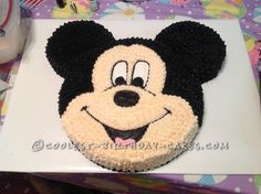Coolest Micky Mouse Birthday Cake... This website is the Pinterest of birthday cake ideas