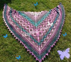 Edlothia Crochet Shawl