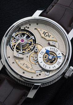 f17d03b93c8 RGM Pennsylvania Tourbillon Empresas De Relógios De Pulso