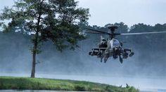 AH-64D Apache Long Bow        Era el sistema de armas antiblindaje más influyente en la Guerra del Golfo. Tiene la capacidad de mostrar una gran potencia de fuego. Este helicóptero se prepara con Alliant Techsystem M230 de 30 mm de un solo cañón cañón habitual que tiene la capacidad de disparar 625 de alto explosivo de doble propósito redondea un minuto.