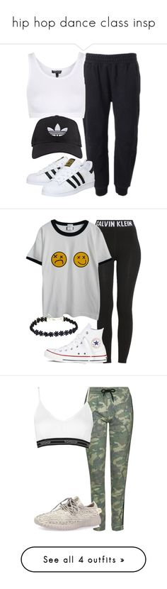 """hip hop dance class insp"" by littlemixmakeup ❤ liked on Polyvore featuring adidas Originals, adidas, Topshop, Calvin Klein, Chicnova Fashion, Converse, One Teaspoon, NIKE and Miss Selfridge"