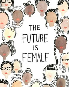 The future is female so get on that #future #whoruntheworld #beyhive #beyoncé #feminism #woke #blacklivesmatter #blackfeminism #hair #blackgirlmagic #queen #nubianqueens #naturalhairgoals
