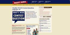 Mighty Nurse Website