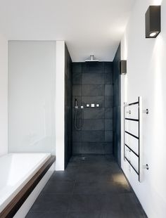 the rest of the house is a bit weird... but i like this tub & shower...Balfour Place by KHBT