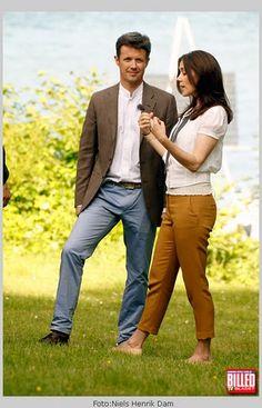 Prince Frederick and Princess Mary.