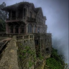 Pin for Later: 8 Haunted Houses and Hotels in Latin America Hotel del Salto, Colombia