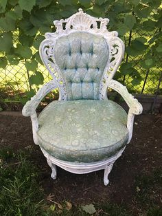 French Princess Bourdoir/Parlor Chair Princess Chair, Accent Chairs, French, Trending Outfits, Business, Unique Jewelry, Handmade Gifts, Furniture, Vintage