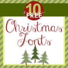 Top 10 Best Free Christmas Fonts