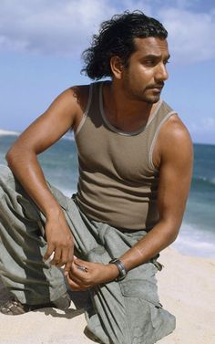 Naveen Andrews (Sayid from Lost) (and going to be Jafar in Once Upon ATime in Wonderland.)
