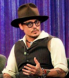 Johnny Depp On the Jimmy Kimmel Show on 7/1/13