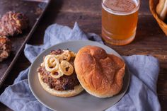 I get bored with just the plain burgers. I found this recipe in Taste of Home and had marked it to save. It is a simple yet tasty sounding burger. Ground Beef Recipes For Dinner, Dinner With Ground Beef, Dinner Recipes, Dinner Ideas, Burger Recipes, Meat Recipes, Cooking Recipes, Healthy Recipes, Burger In A Bowl