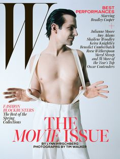 Best Performances February 2015: See All 7 W Magazine Covers - Bradley Cooper