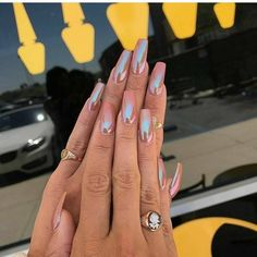 """559 Likes, 4 Comments - @hoodrichist on Instagram: """"PINK NAILS>>>>"""""""