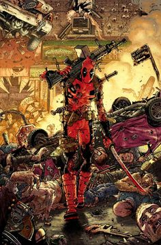 Tony Moore Deadpool #7