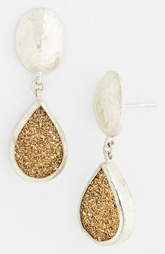 Gurhan 'Galaxy' Drusy Drop Earrings available at #Nordstrom