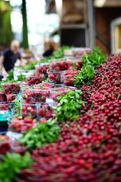 Go to the farmer's market, #oklsummer