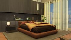 LittleDica Maxis, Sims 4 Cc Furniture, Bedroom Furniture, Furniture Sets, Sims 4 Beds, Sims 4 Bedroom, Sims 4 Clutter, Casas The Sims 4, Sims 4 Cc Packs