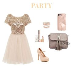 """""""Untitled #11"""" by vuscaniasminaelena on Polyvore featuring Chi Chi, Charlotte Tilbury, Avenue and Rebecca Minkoff"""