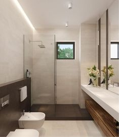 Wonderful Photos Contemporary Bathroom brown Style Love the look of a contemporary toilet? Us all, far too, this is why most people are making a total Toilet Design, Bath Design, Bathroom Styling, Bathroom Interior Design, Modern Bathroom, Small Bathroom, Contemporary Toilets, Cabin Bathrooms, Bathroom Windows