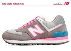 2013 la primavera y el verano de auténticos zapatos New Balance zapatos retro zapatillas WL574HGP