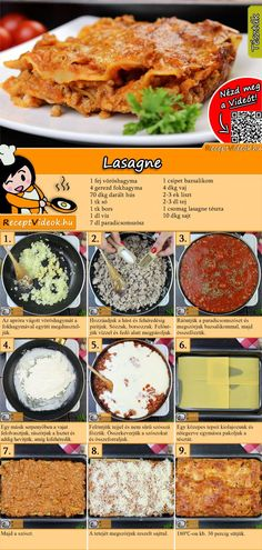 Lasagne Rezept mit Video - so macht ihr Lasagne Bolognese - Lasagne Rezept mit Video { You are in the right place for diy crafts Here we present diy c - Lasagne Bolognese, Bolognese Recipe, Lunch Recipes, Crockpot Recipes, Healthy Recipes, Good Food, Yummy Food, Tasty, Italian Soup