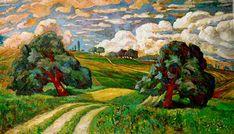 Apres l'orage, 1904 - Karl Edvard Diriks, Impressionism