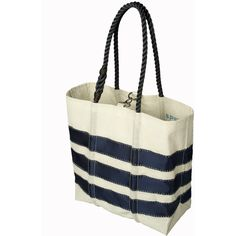 Sperry Top-Sider Sailcloth Medium Tote ($125) ❤ liked on Polyvore