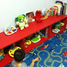 DIY children's playroom