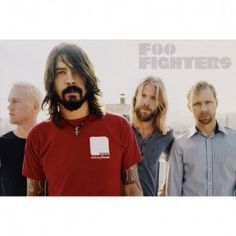 Foo Fighters Portrait Import Poster