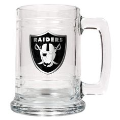 NFL Personalized Oakland Raiders Beer Mug - Tot2Knot